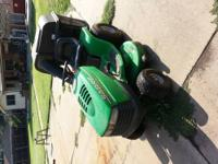 Nice Sabre by John Deere lawn mower. It was bought