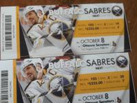 Home opening game THURSDAY October 8th, section 105 row
