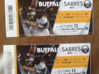 Monday October 12th, 3:00 p.m. Game. section 105 row