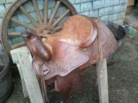 Beautiful Hereford saddle for sale Lightly used 15""