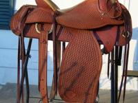Very nice saddle. Used very little. Paid $1600.00 new.