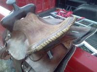nice western, 15 inch saddle not sure the brand, call