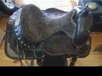 15in Buffalo saddle Call  $200 obo comes with breast