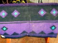 Small Blue Blanket--$10.00 Large Navajo