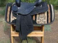 "Like New quality Saddle King Saddle 15 1/2"" seat."