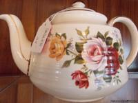 Come support a new store!  This English teapot