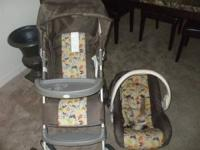 SAFARI CARSEAT AND STROLLER IN GOOD CONDITION  //