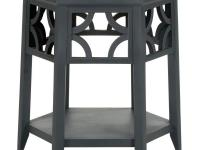 The Connor Hexagon end table has six times the charm.