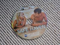 Unscratched, in good condition, Safe Haven DVD starring