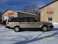 Hello,. We are offering a 1992 Volvo 240 Station wagon.