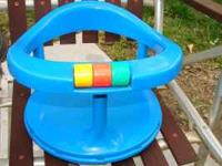 This is Safety 1st baby bath tub ring chair that has