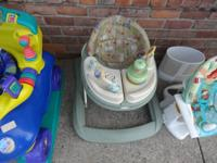 SAFETY 1ST. BABY WALKER - $20.  This item could been