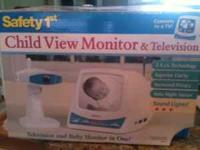 Safety 1st Child View Monitor and Television Excellent