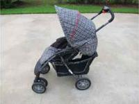 "I have a ""alumi lite"" stroller. Very light weight easy"