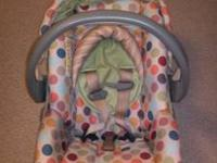 This carseat & matching stroller is in great condition,