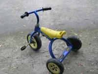 Great trike for 3+ years old This is a heavy duty