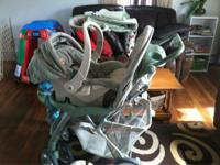 Safety 1st Stroller & Car Seat Combo. Pooh Ambrosia