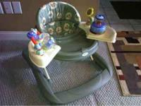 Adjustable height baby walker. Very nice no pets non