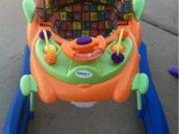 Safety first lights and sounds activity walker. Brand