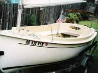 For sale 1998 ComPac Picnic Cat sail boat. $6000--