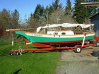Sailboat for Sale, $ 3000 OBO, Stevenson Vacationer, 15