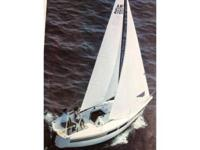 21' racing cruiser by AMF. A Ted Hood design.
