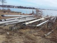 Assorted sailboat masts for larger boats May be able to