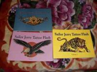 I have 3 mint condition Sailor Jerry Flash books.