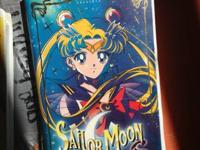 I have three sailor moon VHS for sale which I know are