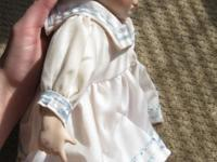 Very cute sailor doll. Small mark on hand as shown in