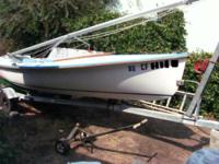 Sails (Main & Jib) for a Coronado 15' - new and in