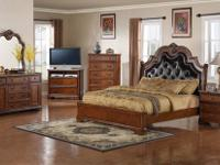 Saint Lucia Bedroom Collection * Hardwood with a