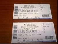 I have 2 tickets to the Saint Mary's -vs- BYU