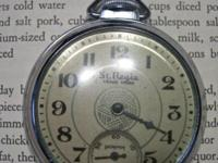 Vintage pocket watch trade marked St. Regis made by