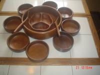 A very good but used Dolphin Genuine Teakwood made in