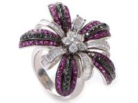 This ring from Salavetti is lavish and fabulous. It is