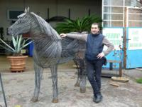 Sale and manufacture of iron sculptures, we create