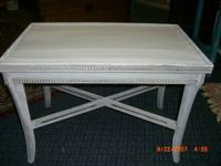 Antique Smaller Coffee/ Tea Table painted with  Paint.