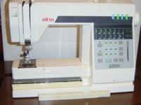Quality Swiss made sewing machine and heat press in