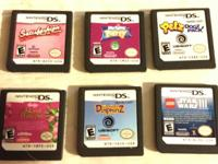 No emails accepted TEXT OR CALLS ONLY  USED DS Games