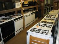 WE HAVE OVER 50 USED GAS AND ELECTRIC STOVES FOR SALE