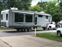 2012 Open Array Roamer RF 357RES, 35 ft. Fifth tire.