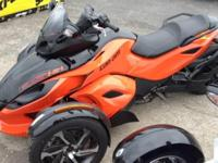 SALE! PRICE REDUCED! New 2014 Can-Am Spyder RS-S SM5 in