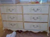 6piece French Broyhill Furniture set $250 obo, Cherry