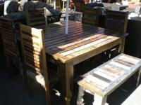 Strong lumber furnishings available up to 60 % off.