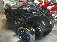 SALE! ONLY ONE IN STOCK! New 2017 Can-Am Spyder F3 SE6