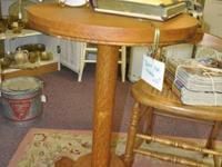 On SALE I have a very NICE and SOLID Oak Side Table