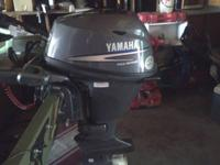 Yamaha boat motor bran new 7.4 horse looking to sale or