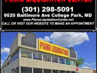 """Piano Liquidation Sale- ALL PIANOS RECENTLY SEIZED BY"