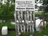 A 4 hr fishing charter for 3-4 persons. $350.00 with